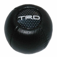 Thumb toyota leatherette shift knob round ball style genuine toyota ptr04 00000 06 mr2 sw20