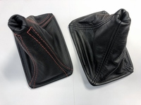 Thumb toyota mr2 mk1 aw11 gear gaiter leather real mr2 ben red
