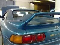 Thumb mr2 spoiler high lever boot lid sw20 2.0l t bar