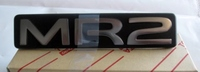 Thumb rear center panel mr2 badge silver toyota mr2 revision 1 rev1 rev2 sw20
