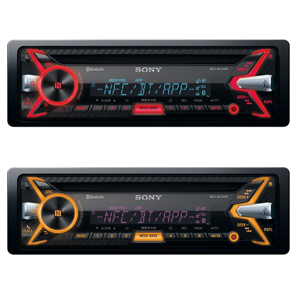 Thumb sony mex n5100bt mr2 stereo toyota