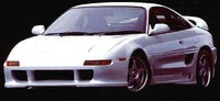 Thumb toms front bumper body kit toyota mr2 sw20 racing trd3